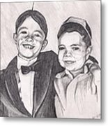 The Little Rascals Metal Print by Beverly Marshall