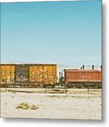 The Little Red Engine Metal Print