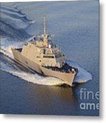 The Littoral Combat Ship Metal Print