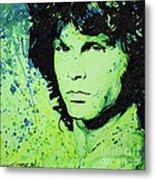 The Lizard King Metal Print by Chris Mackie