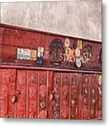 The Lockers Metal Print