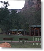 The Lodge At Zion National Park Metal Print