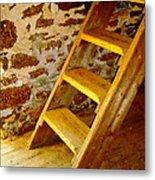 The Loft Steps Metal Print