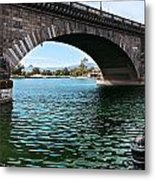 The London Bridge Is In Arizona Metal Print