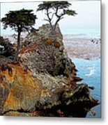 The Lone Cypress - Pebble Beach Metal Print by Glenn McCarthy Art and Photography