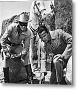 The Lone Ranger And Tonto Metal Print
