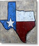 The Lone Star State Metal Print