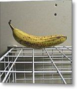 The Lonely Banana Metal Print