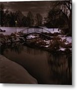 The Lonely Bridge Metal Print