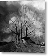 The Lonely Grave Metal Print