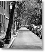 The Long And Narrow Metal Print