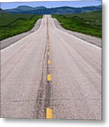 The Long Road Ahead Metal Print