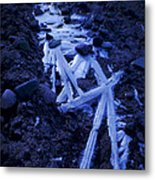The Long Road Home Metal Print by The Stone Age