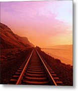 The Long Walk To No Where  Metal Print