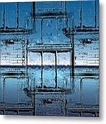 The Looking Glass Reprised Metal Print