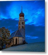 The Lord Is My Light - The Italian Dolomites Metal Print