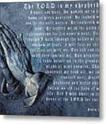 The Lord Is My Shepherd Metal Print by Albrecht Durer