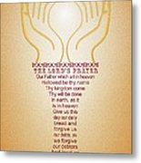 The Lord's Prayer Metal Print