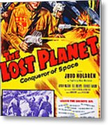 The Lost Planet, Top Right Judd Holdren Metal Print