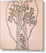 The Love And Celebration Of The Maple Tree Family Metal Print