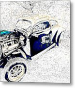 The Love Bug Metal Print