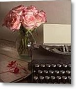 The Love Letter Metal Print