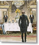 The Lucky Rich, 1896 Metal Print
