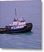 The Lunch Bucket Boat Metal Print