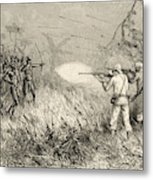 The Madis Use Bows And Arrows Metal Print