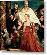 The Madonna Of The Cuccina Family Metal Print