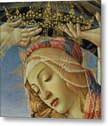 The Madonna Of The Magnificat Metal Print