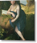 The Magdalene, C.1518-19 Oil On Canvas Metal Print