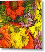 The Magic Bouquet Metal Print