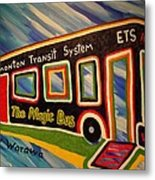 The Magic Bus Metal Print