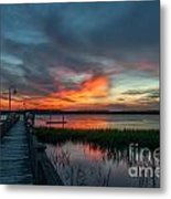 The Magic Hour Metal Print