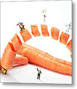 The Magic Show Little People Big Worlds Metal Print