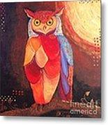 The Magical Mystical Owl Metal Print