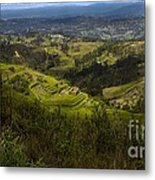 The Magnificent View From Cojitambo Metal Print