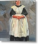 The Maid Metal Print