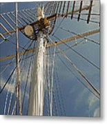 The Mainmast Of The Amazing Grace Metal Print