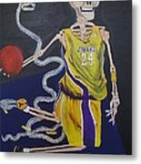The Mamba Strikes Metal Print