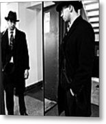 The Man In The Mirror 2 Metal Print by Sarah Loft