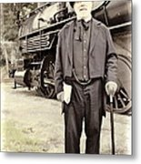 The Man In The Tophat Metal Print