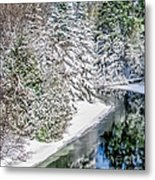 The Manistee River  Metal Print