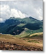 The Manitou And Pikes Peak Railway Cog Descends Metal Print