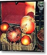 The Many Blessings At Christmas Metal Print