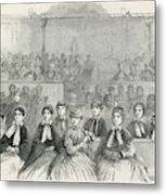 The Many Wives Of The Mormon Leader Metal Print