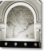 The Map Metal Print