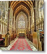 The Marble Church Interior Metal Print