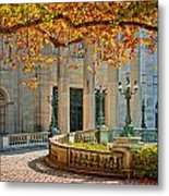 The Marble House In Autumn Metal Print
